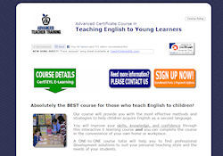 Certificate in Teaching English to Young Learners - TEYL - CertTEYL